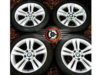 """17"""" Genuine BMW 3 ser alloys, perfect cond, excellent matching Goodyear tyres."""