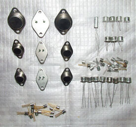 Transistors and other electronic components - All Unused / NOS