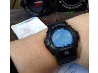 Casio Blackout G-Shock Solar Quartz Watch