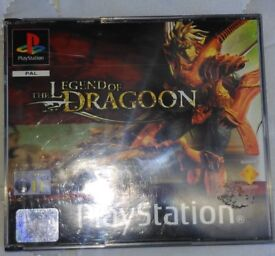 Legend of Dragoon (Sony PlayStation 1, 2001) - European Version
