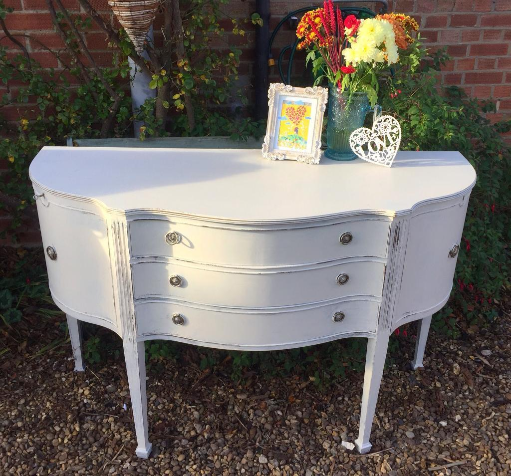 Beautiful shabby chic sideboard