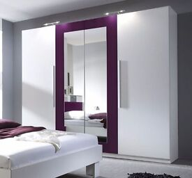 BRAND NEW WARDROBES WITH SLIDING DOORS, MIRRORS, STORAGE AND SHELVES (AVAILABLE IN DIFFERENT STYLES)