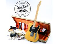 Fender American Vintage 52 Telecaster Limited Edition Butterscotch Blonde & Fender Tweed Case