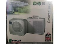 Portable air conditioning unit for caravan or Motorhome