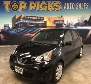 2015 Nissan MICRA SV, Automatic, Accident Free, Low Mileage!