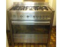 Great Condition Smeg Range Cooker 5 burners - London SW1