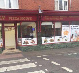 pizza kebab takeaway for sale