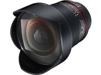 Samyang 14mm F/2.8 UMC Aspherical IF ED Lens Canon Great Condition