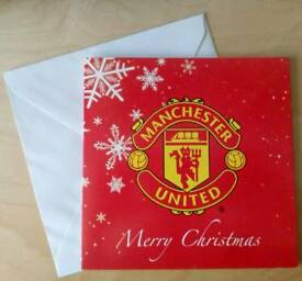 MANCHESTER UNITED CHRISTMAS CARDS