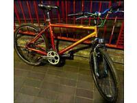 ✅ burnt orange/silver 21 inch/16 speed personalise refurbish Raleigh bicycle 📲