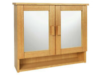 Heart of House Somersham 2 Door Bathroom Cabinet.2 Available New Boxed