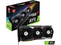 Nvidia Ampere GeForce RTX 3070 MSI Gaming X Trio