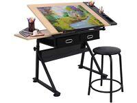 Drawing Desk & Stool