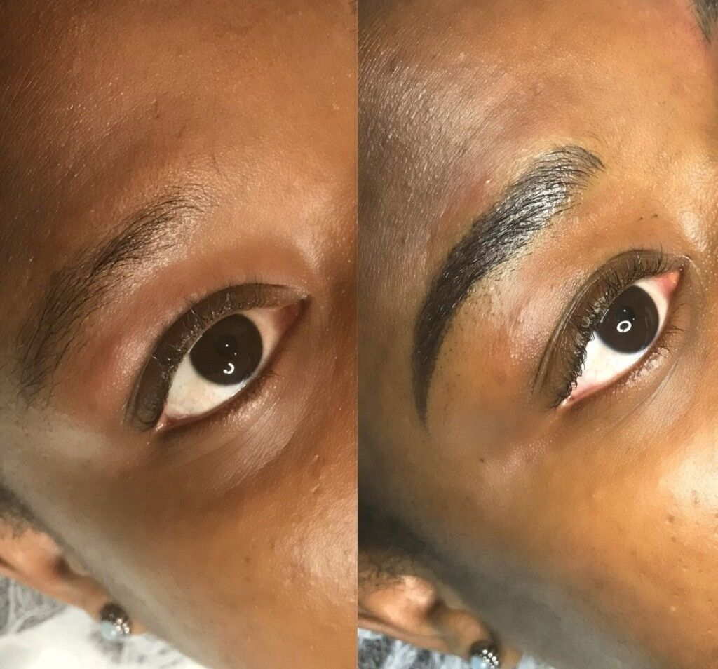 what is semi permanent eyebrows