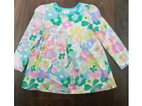 Mini club girls floral dress 1.5-2 yrs