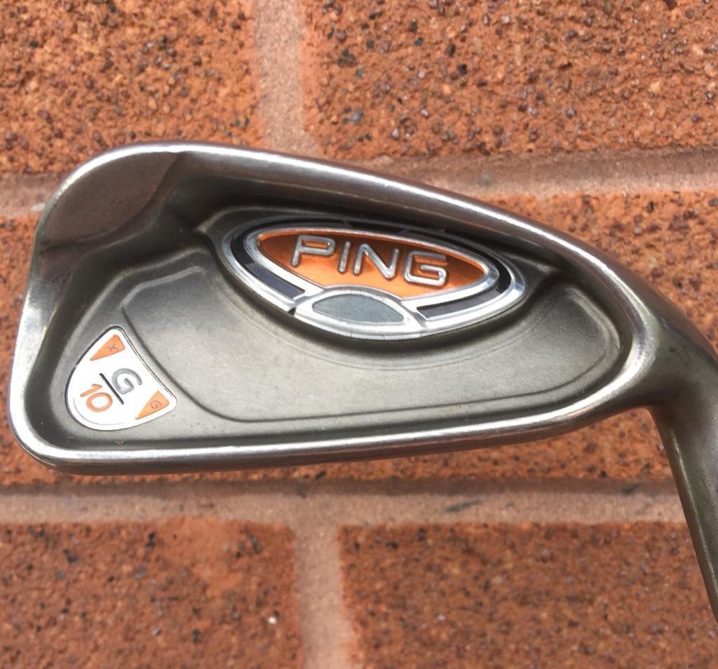 Ping G10 irons