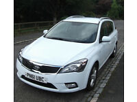 Kia Ceed Diesel Estate CRDI 2 1.6- Low mileage, full mot, lovely car.