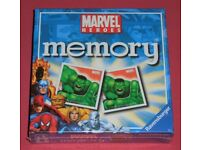 'Marvel Heroes' Memory Cards (new)
