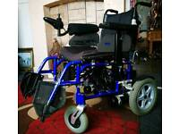 Batterry powered electric wheelchair