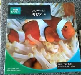 Clownfish puzzle