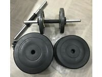 Dumbbell Weights and Bars 5kg 10kg