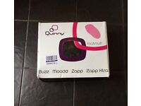 Quinny footmuff Brand new in box , Blue base colour Rrp £65