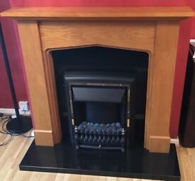 Immaculate fire place never used only display
