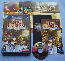 Fire Emblem Path of Radiance Nintendo Gamecube / Wii