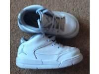 Nike White Jordan - Infant Size 5.5