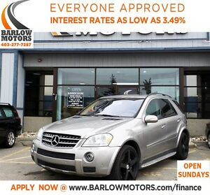 2007 Mercedes-Benz M-Class ML63 AMG*EVERYONE APPROVED* APPLY NOW