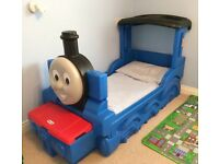 Thomas the tank engine toddler bed. Used