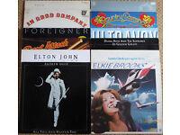 Records, Vinyl inc. Elton John, Eric Clapton, Gerry Rafferty, Phil Collins £1 each or £30 the lot