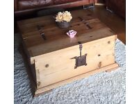 Solid Oak Mexican Chest