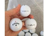 Callaway Diablo Grade A x15 golf balls