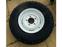 "Genuine Land Rover steel wheel, 16"""