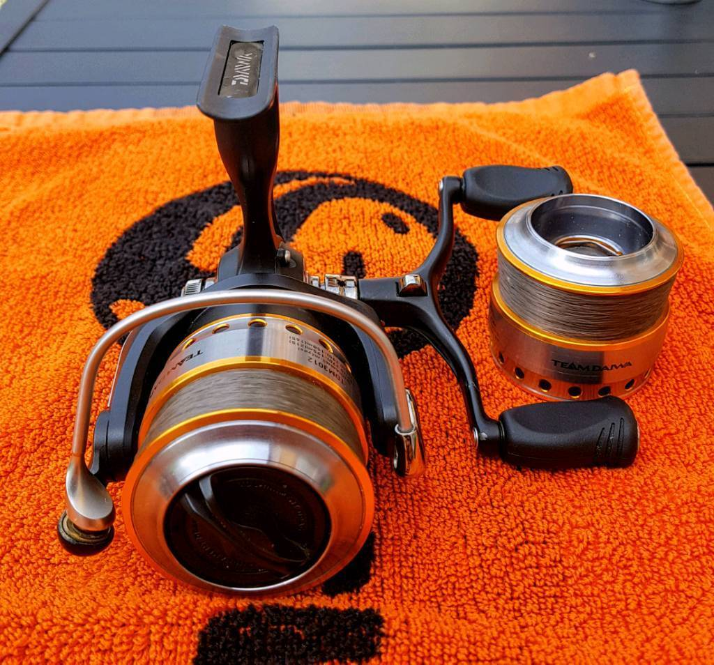 Team Daiwa 3012d reel double handle with a spare spool (mint conditionin Colchester, EssexGumtree - Team Daiwa 3012d reel double handle with a spare spool (mint condition)like new condition and full working order only had it around a month and only been used a handful of times unfortunately I no longer have the boxThe reel and spool will be...