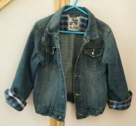 Boys denim jacket age 4-5 years