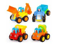 Push and Go Friction 'Construction Vehicle Set' - Brand New / Packaged