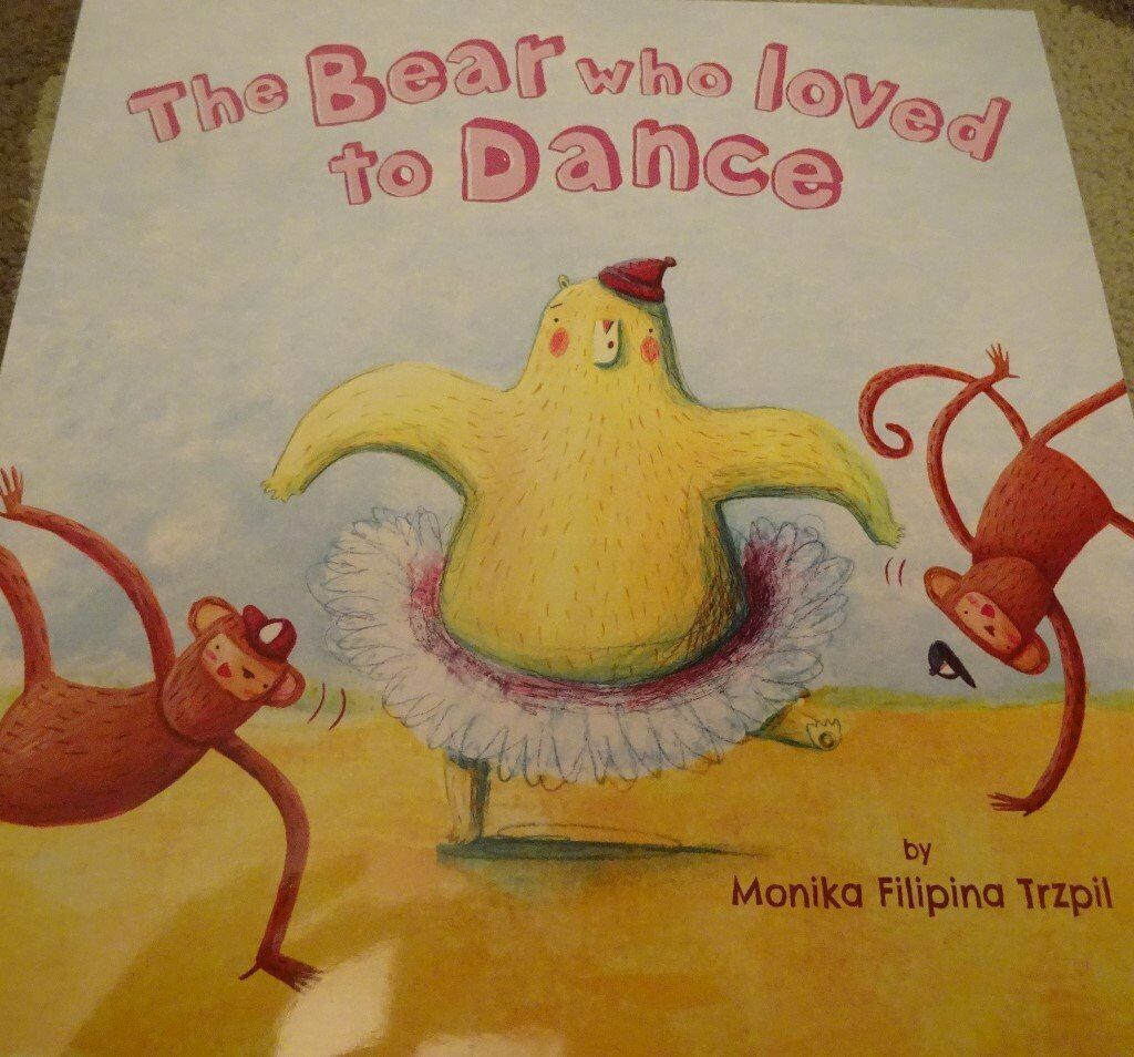 New The Bear Who Loved To Dance children kids story book bedtime only £1 ideal xmas gift