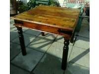 Oak table and 4 chairs beautiful set