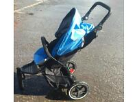 Phil and ted sky blue buggy pram double buggy