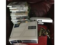 Xbox 360 Star Wars limited edition console with Kinect + 15 games games are new & sealed