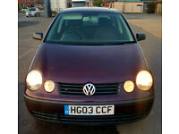 vw polo 1.2 3cylinder 2003