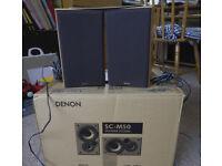 Pair of Denon SCM50 speakers