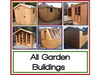 High Quality Garden Shed, Summer Houses, Storage, Etc Etc (Price includes Deliver & Installation)