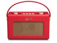 New! Roberts Revival RD60 Wireless Portable DAB Digital Radio - Red - RRP: £249.99