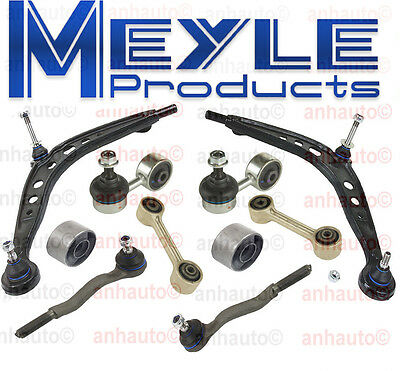 BMW E30 318i 318is 325 325i Meyle Front Suspension Kit Control Arm Tie Rod -