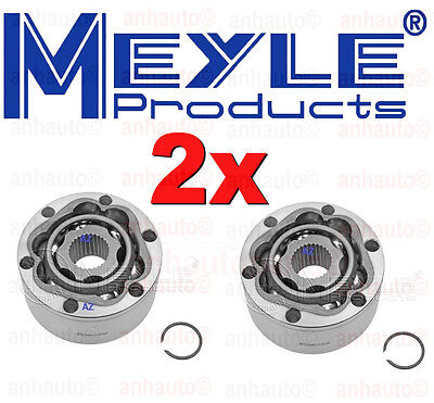 Set of 2 Meyle Brand Rear CV Joint for Porsche 911-Turbo Only + -