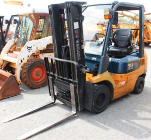Toyota 1500kg LPG forklift with container mast Malaga Swan Area Preview