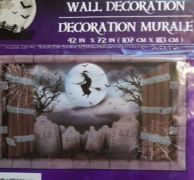 Witch Hands (Halloween Wall Murals! Skeleton Hands/Flying Witch/Graveyard! Spooky!)